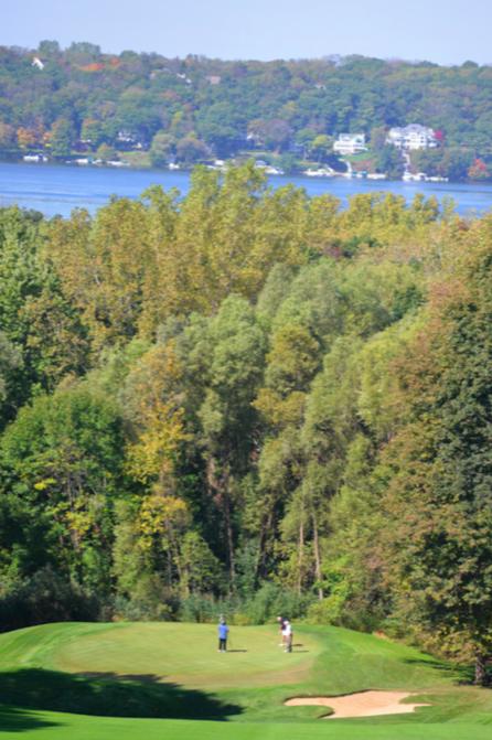 Abbey Springs showcases the stunning Lake Geneva.