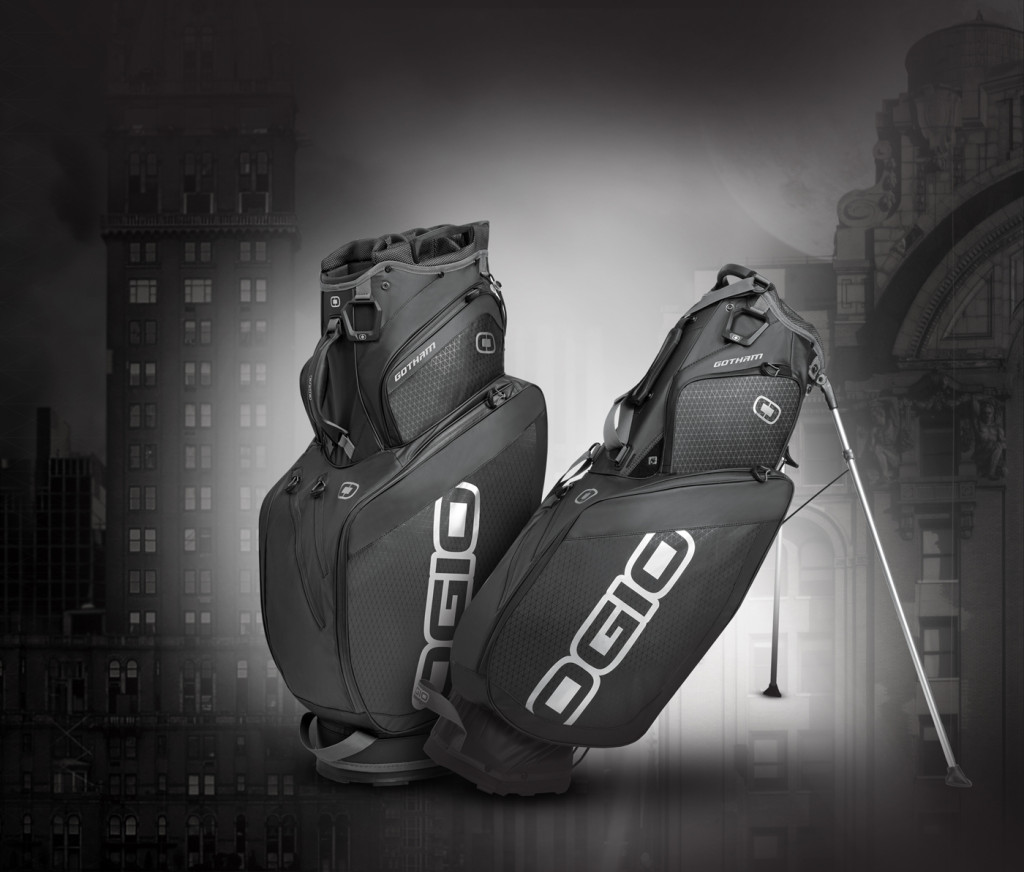 The new Gotham bag from Ogio comes in cart and stand bag flavors, with superlight, water-resistant material and easy access to every pocket.