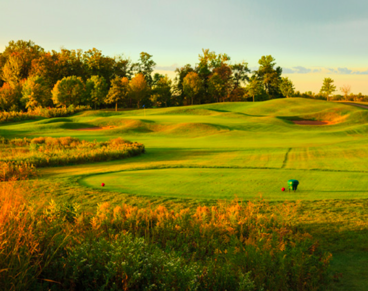 Chaska Town Course, one of Minnesota's greatest golf gems.